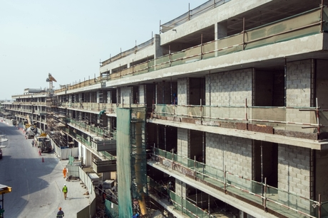 In Pictures: Beaver Gulf's siteworks for Al Ghurair's Deira building
