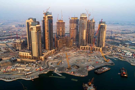 Dubai Creek Residences 90% complete as 2019 handover nears