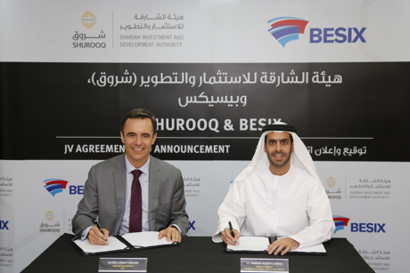 Shurooq and BESIX ink Sharjah waste treament plant JV