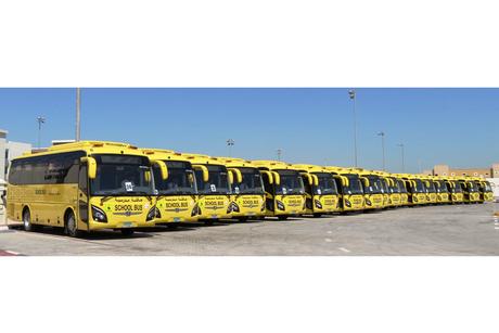 Al Naboodah delivers 750 school buses as UAE academic year resumes