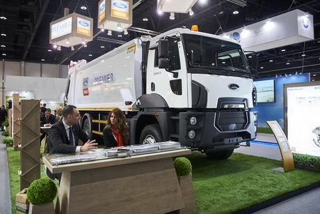 Al Tayer debuts Ford compactor truck at EcoWaste