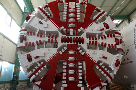 Qatar Rail takes delivery of 21 TBMs