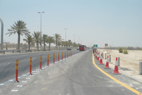 Bahrain completes construction of new exit to Zayed Town