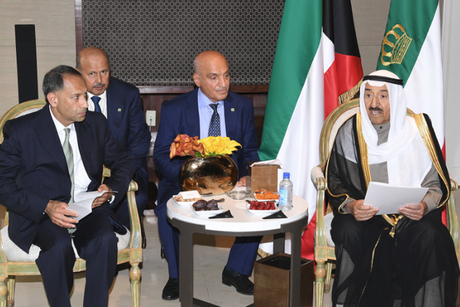 Kuwait Emir calls on US for infrastructure project support