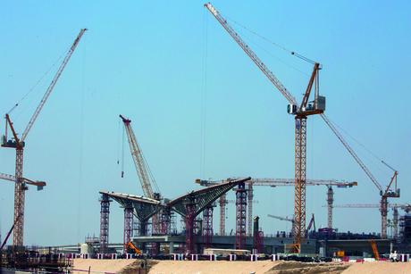 Progress report: Construction at Expo 2020 Dubai site