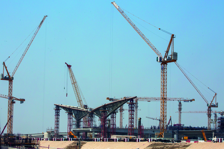 Progress report: Construction at Expo 2020 Dubai site
