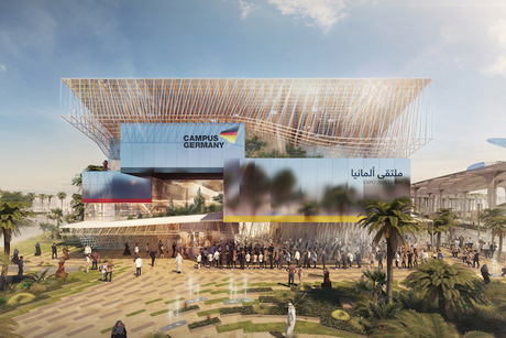 Germany reveals design for high-tech Expo 2020 pavilion