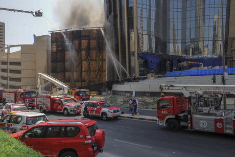 Fire at National Bank of Kuwait's under-construction HQ put out