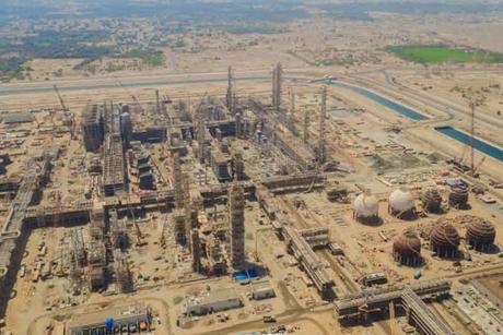 Construction of Orpic's Liwa Plastics complex in Oman 67% complete