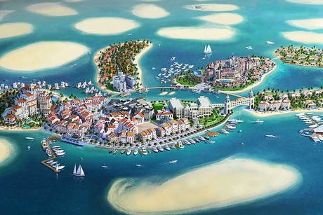 Dubai's floating home builder eyes construction record