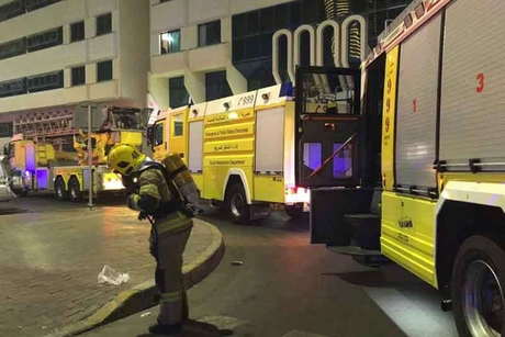 Fire in 13-storey Abu Dhabi apartment put out