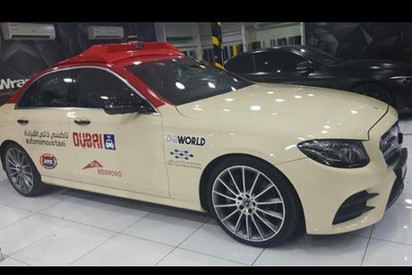 RTA says driverless taxi test runs planned for Dubai