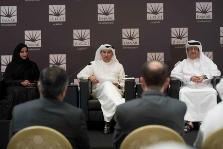 Dubai's Emaar pays out $283m to shareholders