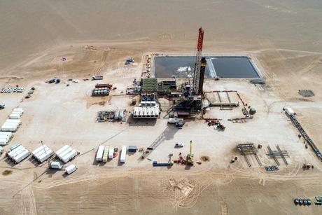 Construction progress made on BP's Ghazeer Gas Field in Oman