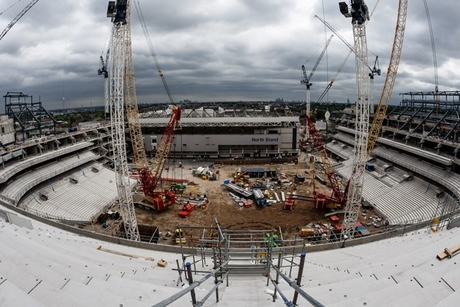 Spurs' new football stadium delayed as contractors miss deadlines