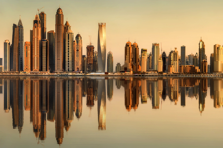 What is the Middle East construction CEO's new job description?