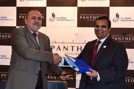 Dubai's CJ Tech Contracting picked to build Pantheon Elysee