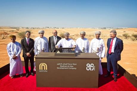 Oman starts development of Madinat Al Irfan smart city