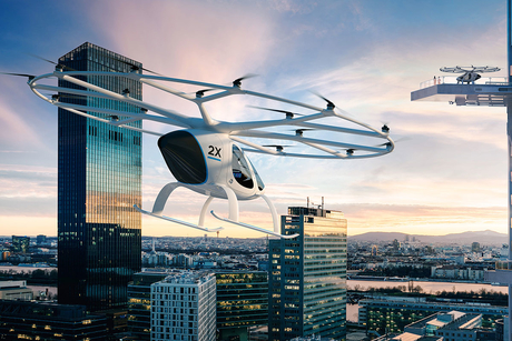 The future of transport has flying taxis and smart metro lines