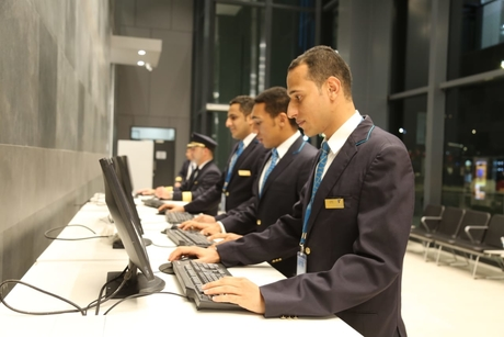 Oman Air flying with new Crew Reporting Centre
