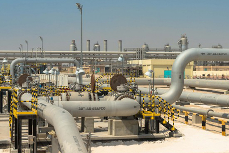 Saudi Crown Prince attends Bahrain launch of Aramco-Bapco oil pipeline