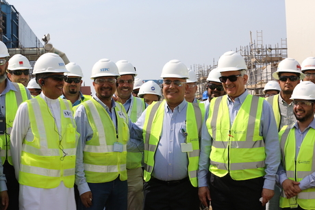 Key safety milestone reached at Shuaibah Expansion II IWP