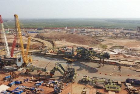 Construction of UAE smelter EGA's Guinea plant 75% complete