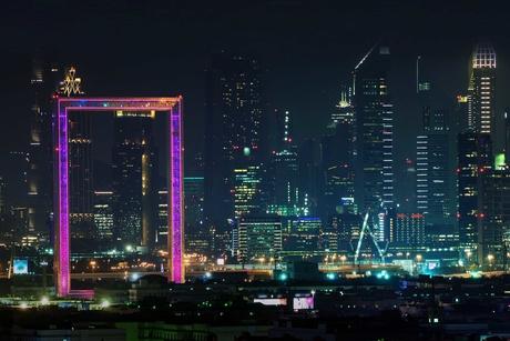 Dubai Frame's architectural lighting details revealed