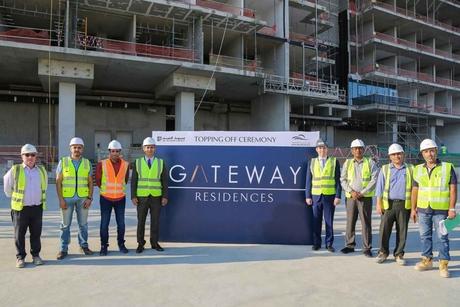 Rak Properties' $24m Gateway Residences tops out