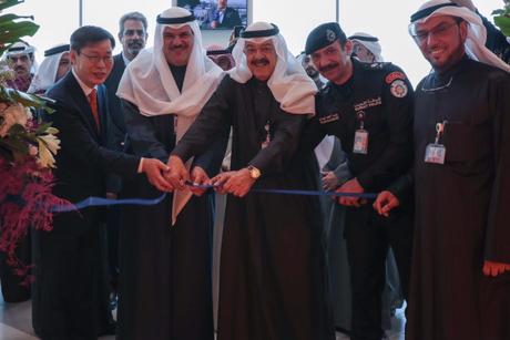 Kuwait International Airport's T4 first class lounge opens