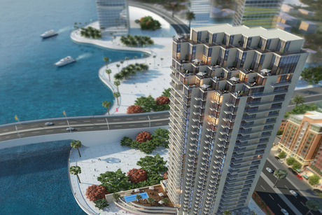 Construction progress on 27-storey Liv Residence Dubai Marina tower