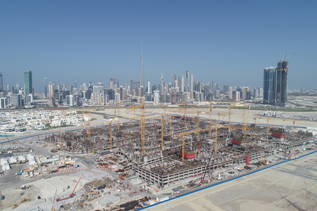 Dubai's Meydan One Mall notes 60% structural completion
