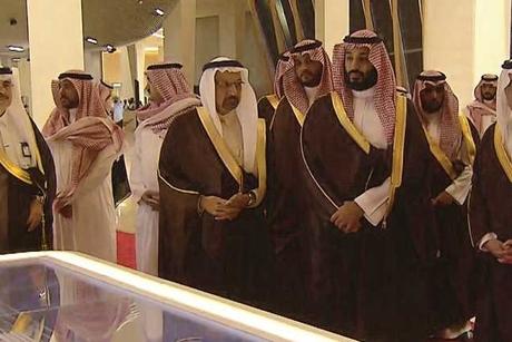 Saudi Crown Prince unveils Aramco energy megaproject Spark