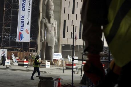 Revealed: Orascom-Besix's progress on Grand Egyptian Museum