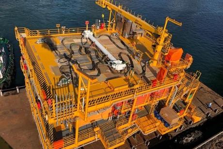 Drydocks World completes Dubai Petroleum's Rashid D platform