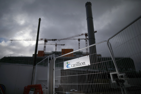 Former bosses 'grilled' about Carillion collapse by UK gov't agency