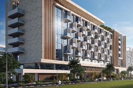 Construction progress of Dubai's $3.2bn Azizi Riviera home hits 40%