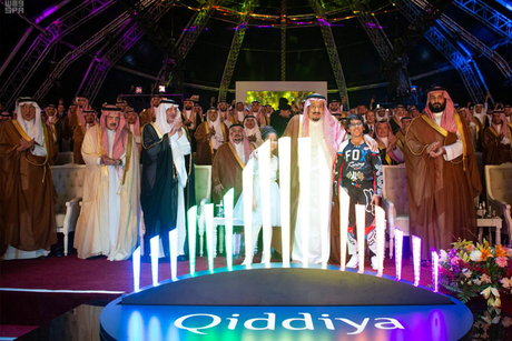 Saudi Arabia's Qiddiya team mobilises to Dubox-built site offices