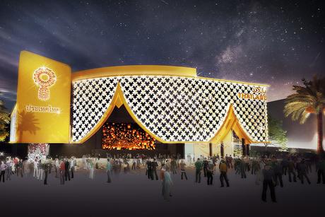 Expo 2020 Dubai's Thailand Pavilion structure 100% complete