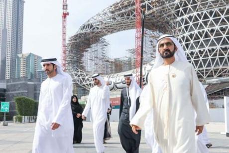 Sheikh Mohammed reviews Dubai's Museum of the Future