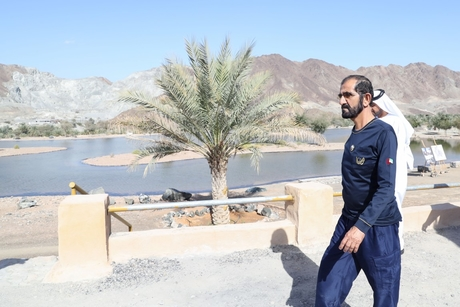Dubai Ruler inspects Hatta eco-tourism development projects