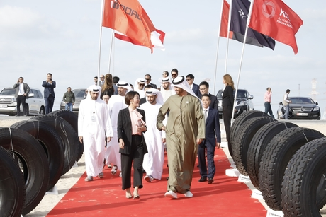 China tyre company Roadbot to build $614m factory in Abu Dhabi