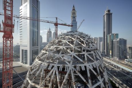 In pictures: Dubai's Museum of the Future under construction