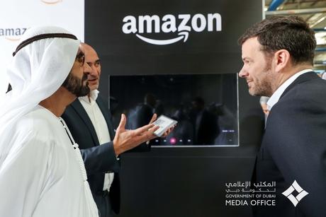 HH Sheikh Mohammed tours new Dubai facility of Amazon's Souq