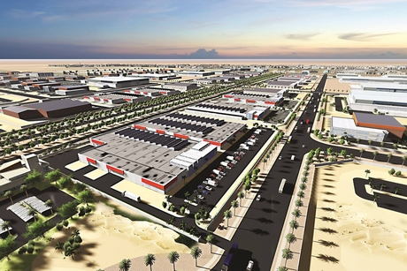 Saudi's Spark energy hub awards 23km road construction contract