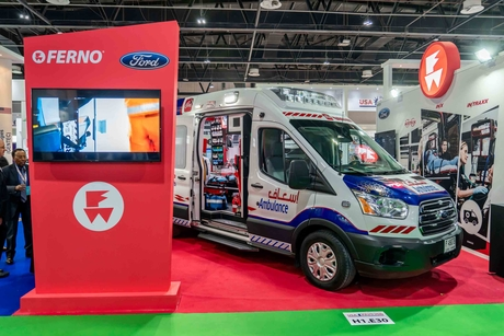 Ford's Transit 350 gains traction in Middle East's ambulance market
