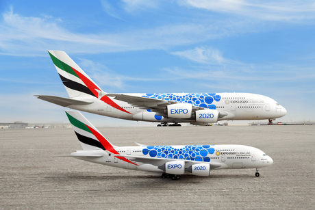 For sale: Expo 2020 Dubai-inspired Emirates A380, B777 models