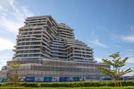 Azizi Aliyah homes in Dubai Healthcare City 90% complete