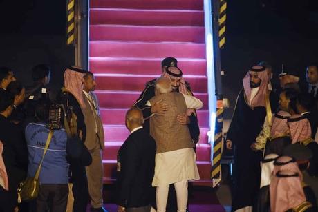 Five MoUs due as Saudi Crown Prince meets India's Narendra Modi
