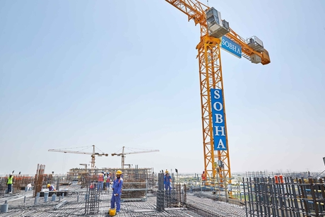 Construction progress noted on Dubai's $2.5bn Sobha Hartland
